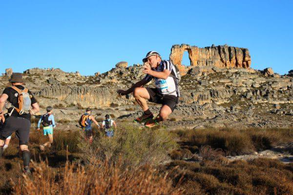 Donald Mouton at the Arch - Cederberg Traverse