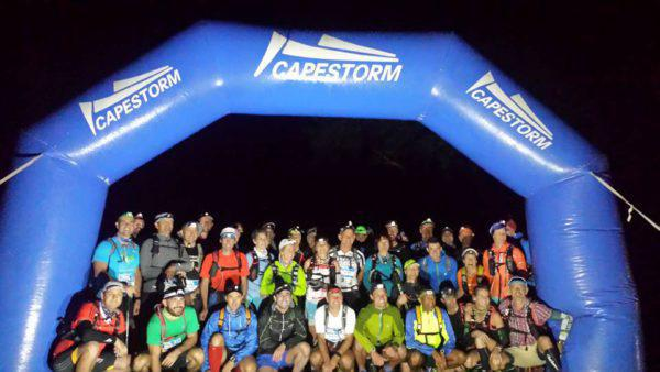 Start Group of the Cederberg Traverse 2015