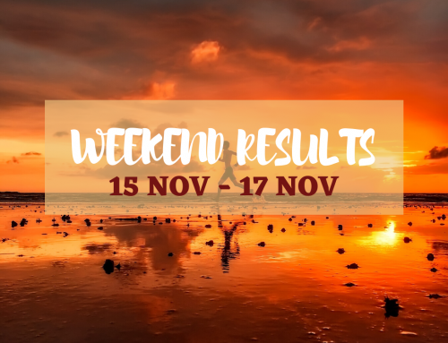 Weekend Race Results | 15 – 17 November