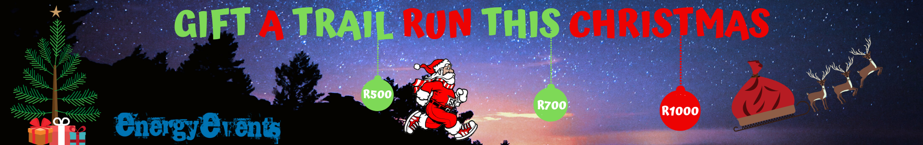 GIFT A TRAIL RUN WEBSITE