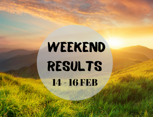 Weekend Results 14 – 16 Feb